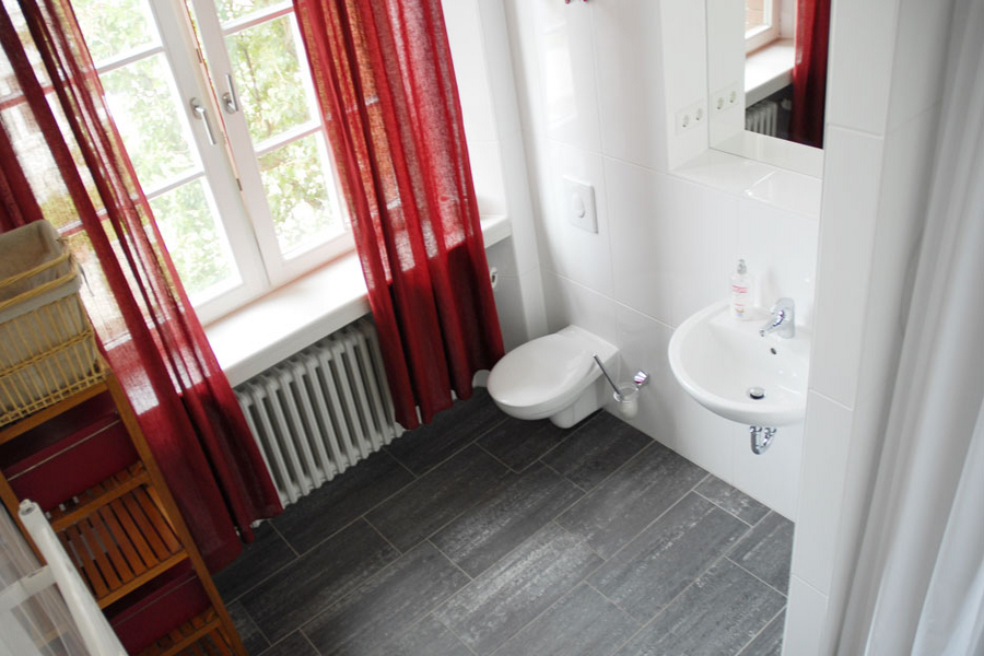 All apartments on campus have en-suite bathrooms with shower